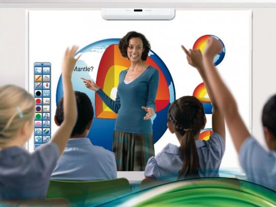 Pizarras interactivas para aulas digitales