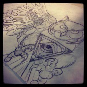 Diseño actual de tatuaje