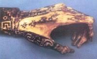 Restos tatuados de la momia Amunet