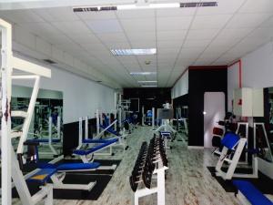 sala de máquinas gimnasio acrópolia