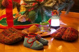 zapatillas arbol de navidad