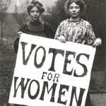 derecho al voto para la mujer