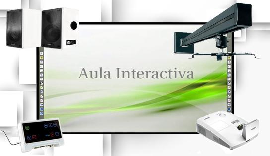 AULA INTERACTIVA HITACHI FX89 CON D755WT ULTRA CORTA DISTANCIA
