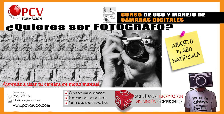 Curso de Fotografía en Gijón