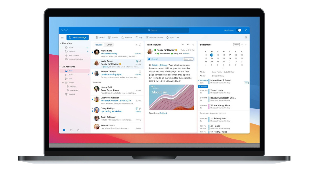 Outlook para macOS Big Sur Microsoft